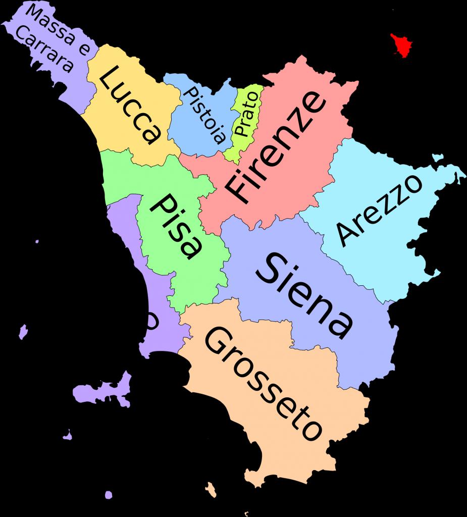 spurgo in tutta la Toscana
