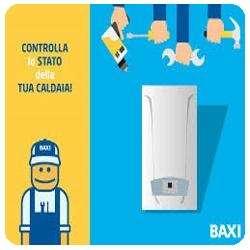 manutenzione caldaie Baxi