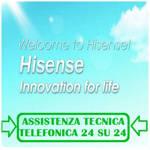 numero verde Hisense assistenza tecnica condizionatori;