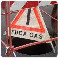 Fughe gas