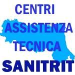mappa centri assistenza tecnica Sanitrit Emilia-Romagna